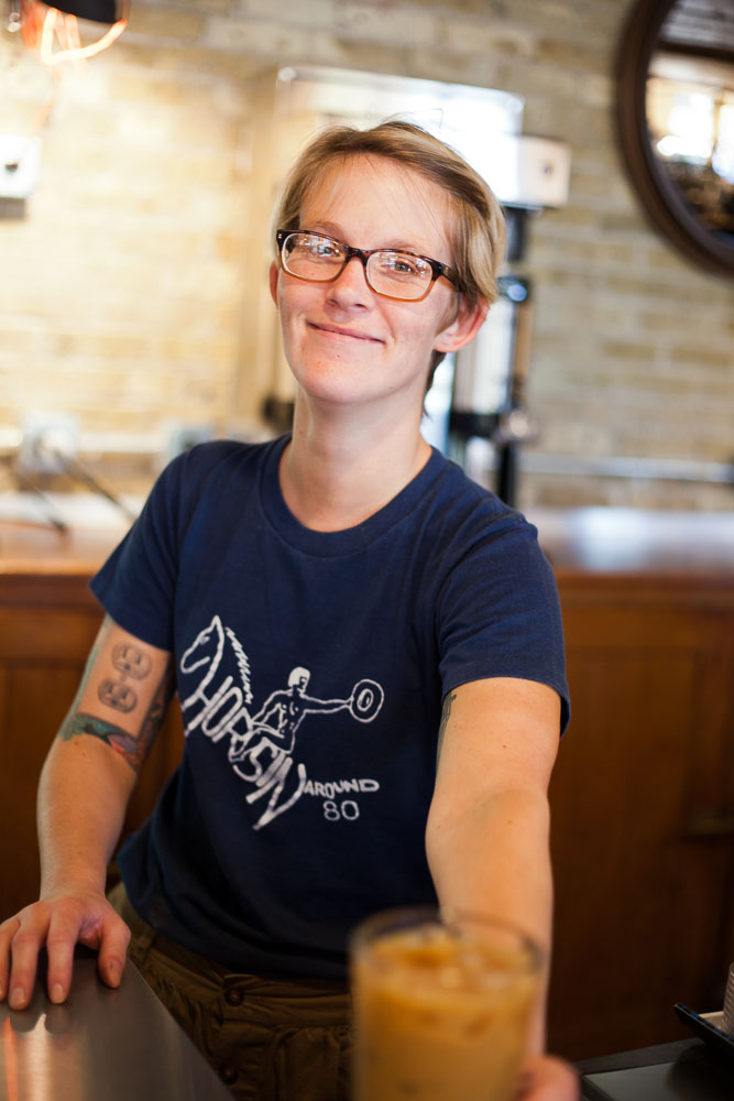 ANODYNE Coffee, Walker's Point Milwaukee, Barista | ©Dre Lynn Hudson 2013, All Rights Reserved.