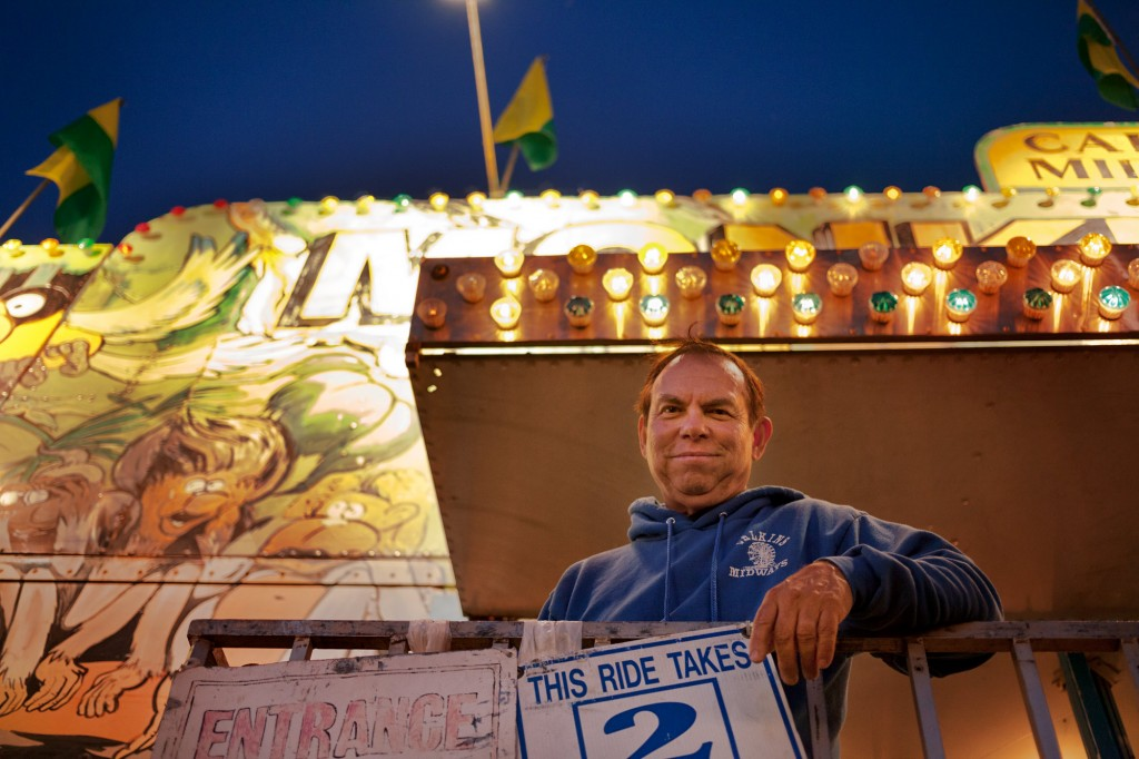 US Marshal, Weekend Carny | ©DL Hudson 2014, all rights reserved.