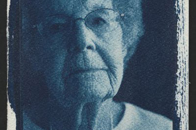 Gram // 4x5 Cyanotype // DL Hudson 2014, all rights reserved