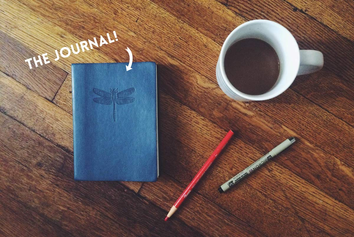 DL Hudson Coffee Journal Layout