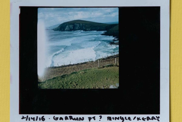 Fujifilm FP100c Hasselblad Polaroids, Ireland / Cliffs of Moher