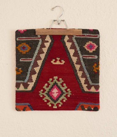 Vintage Decorative Turkish Kilim Pillow cover