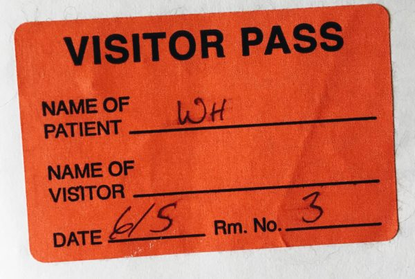 overdose visitor pass