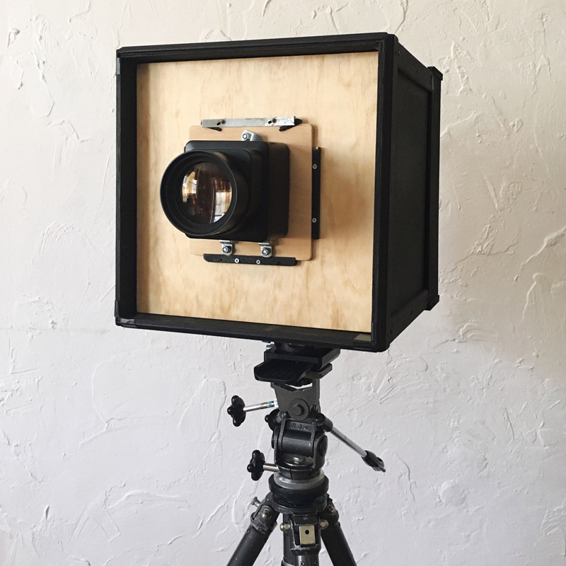 DIY 8x10 Paper Negative Box Camera // ©Andrea Dre L Hudson 2016, all rights reserved