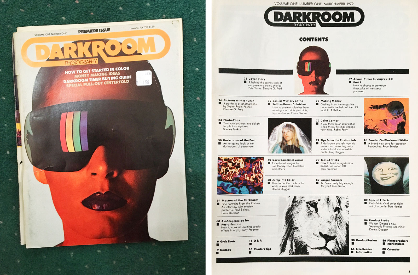 Darkroom Photography Magazine, 1979-1981 // Digitized PDFs