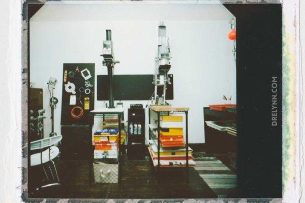 Fujifilm Polaroid of Darkroom / ©DL Hudson 2015