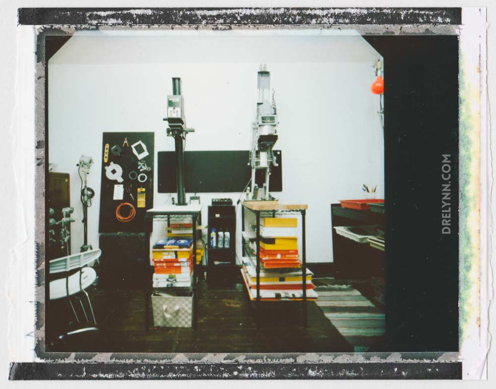Fujifilm Polaroid of Darkroom / ©DL Hudson 2015