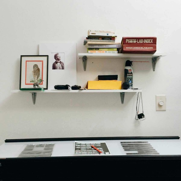 Light Table and Shelves