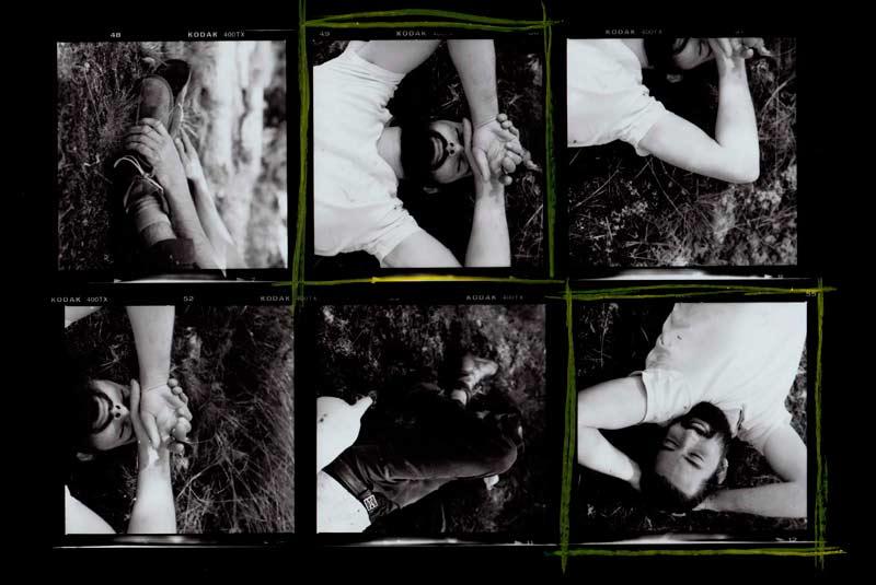 Darkroom Contact Sheet: Hasselblad 501c & Kodak Tri-X