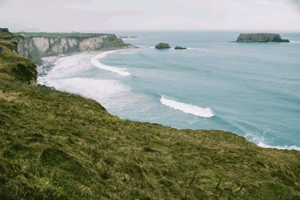 Carrick-a-rede view, Ireland