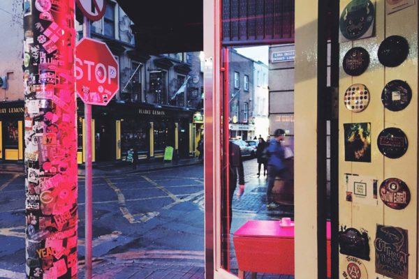 Dublin Hipster Bar / ©Andrea Dre L Hudson 2016