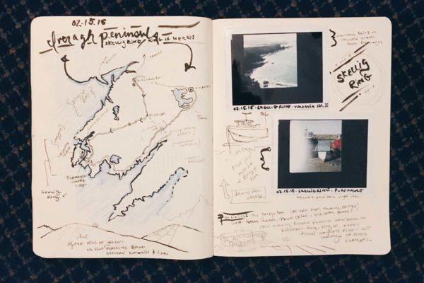 Art Travel Journal, Iveragh Peninsula ©Andrea Dre L Hudson